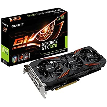 Amazon.com: Gigabyte gv-n1070g1 gaming-8gd REV2.0 GeForce ...