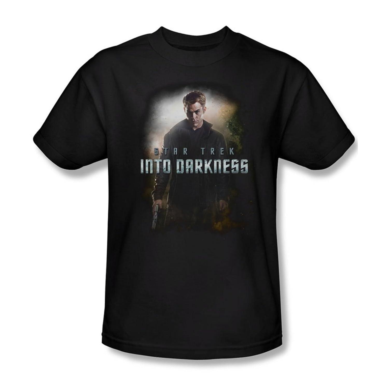 Star Trek - Mens Darkness Kirk T-Shirt