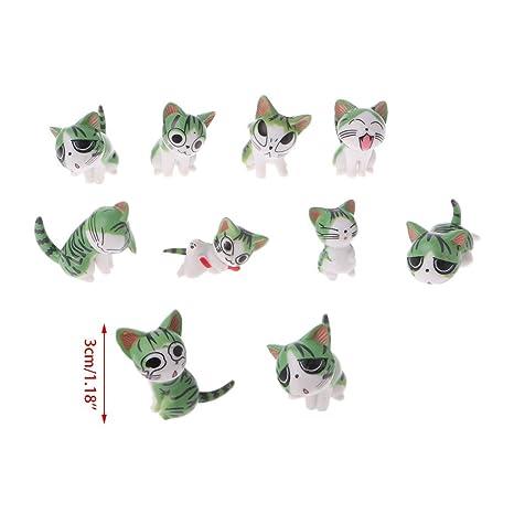 yangfr - Adorno en Miniatura para decoración de Gatos ...