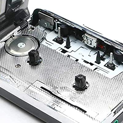 Cassette Player, Lyyes USB Cassette to MP3 Converter with Earphone Compatible with Laptop and PC: Home Audio & Theater