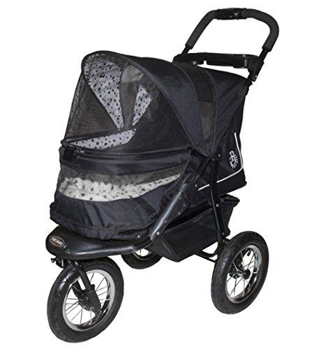 PETG-PG8450NVD-Pet-Gear-No-Zip-NV-Pet-Stroller-Zipperless-Entry-Dalmatian
