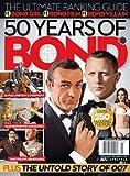 50 Years of Bond Tribute Magazine - Daniel Craig; Sean Connery, etc
