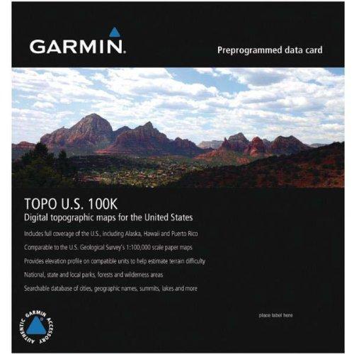 Garmin TOPO! 2004 Full Coverage U.S. Map microSD Card