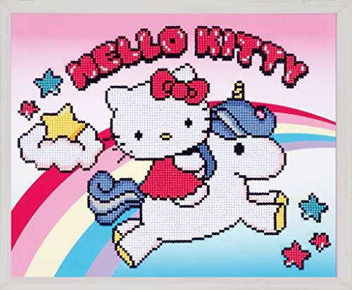 Vervaco Diamond Painting Kit: Hello Kitty with Unicorn