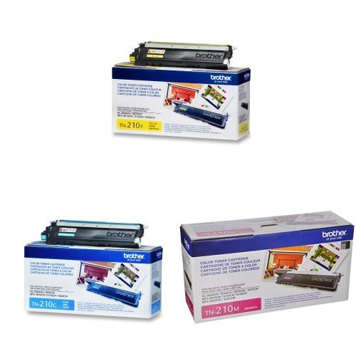 Brother TN-210C Toner Cartridge - Retail Packaging - Cyan TN210C