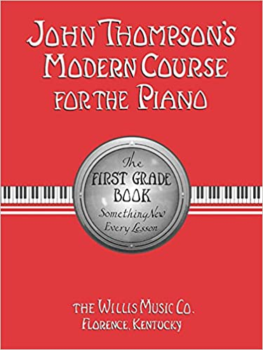 2 piano books 1 john thompsons modern course for the piano the first grade book 2 john thompsons modern course for the piano the second grade book
