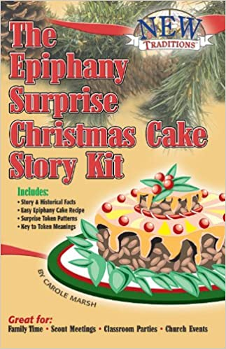 Book The Epiphany Surprise Christmas Cake Story Kit (Holiday)