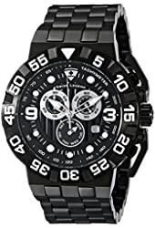 Swiss Legend Men's 10125-BB-11 Challenger Analog Display Swiss Quartz Black Watch