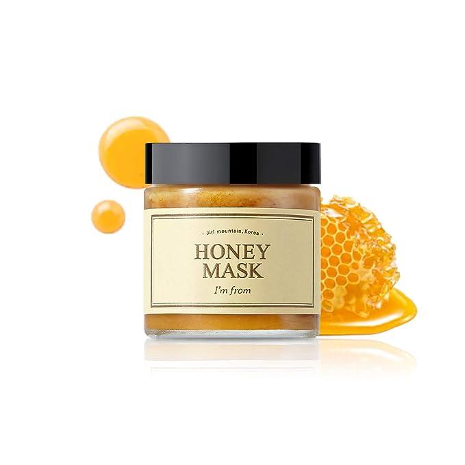 Amazon.com : [I'M From] Honey Mask, wash off type, real honey 38.7%, 120g,  4.23oz : Beauty