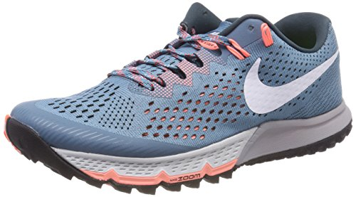 Nike Women's W Air Zoom Terra Kiger 4 Trail Running Shoes Blue (Noise Aqua/Deep Jungle/Crimson Pulse/White 401) enjoy shopping VCsKa4OEbx