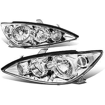 Toyota Camry XV30 Pair of Chrome Housing Clear Corner Headlights