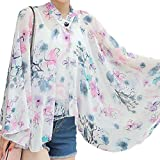 George Jimmy Sun Protective Clothing - Summer Chiffon Shawl Beach Coats Jackets-A2