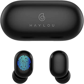 True Wireless Earbuds,Haylou GT1 Bluetooth 5.0 Sports HD Stereo Touch Control Ear Buds with IPX5/Fast Connection/Mini Case(Only 30g)/Total 12H ...