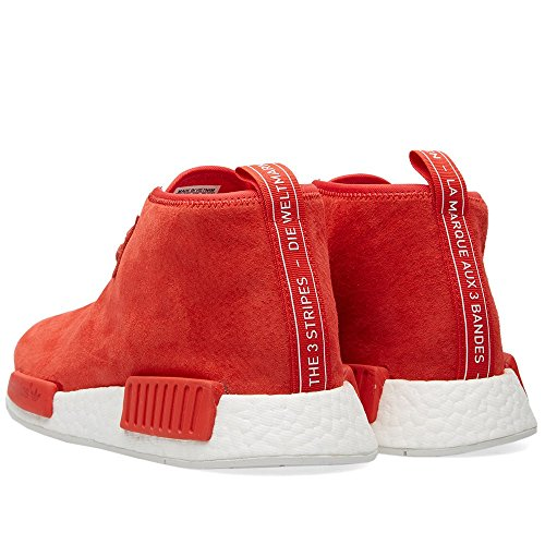 low priced 25f2e b93a5 low-cost JWONG 2016 Adidas NMD C1 Chukka Red sz 10.5 S79147 ...