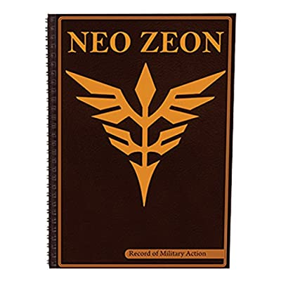 Great Eastern Entertainment Gundam Neo Zeon Notebook: Toys & Games
