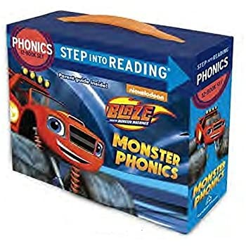 Blaze and the Monster Machines 12 in a Box 12 Book Set Learn to Read Phonics Age 3 - 7 Years