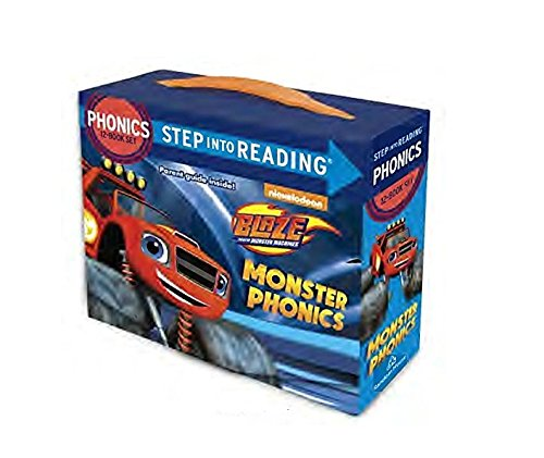 Acquista a buon mercato blaze and the monster machines box book set learn read phonics age years