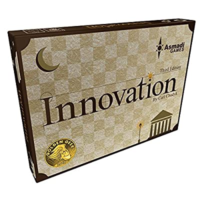 Asmadi Games Innovation: Third Edition Card Game (4 Player): Toys & Games