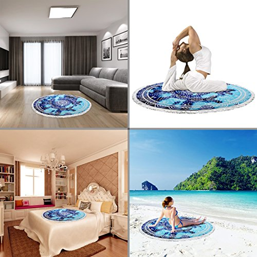Ricdecor Mandala Towel - uses
