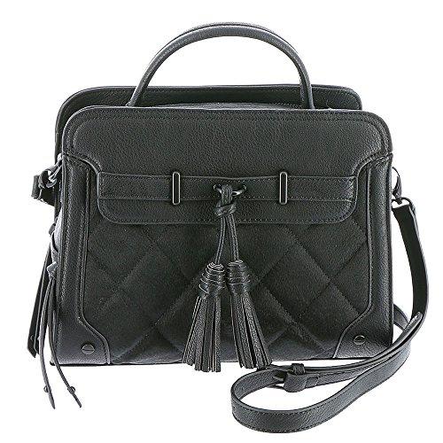 Handbag Black Buddha (Big Buddha Zima Satchel Bag Black)