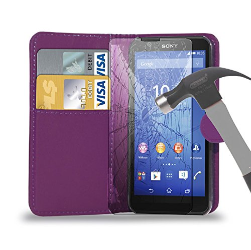 Tempered Glass Screen Protector for Sony Xperia M2 - 4