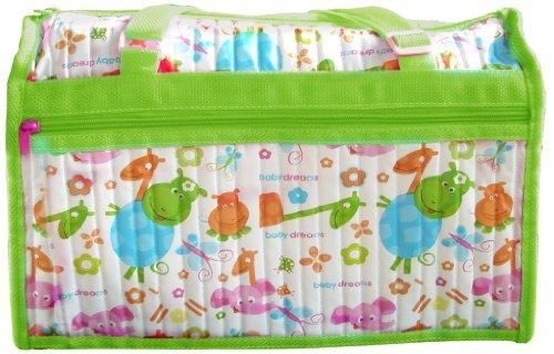 Baby Dreams Diaper Bag  Green