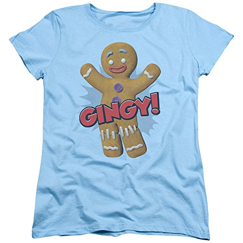 2Bhip Shrek Animated Children's Comedy Movie Gingy Gingerbread Man Women's T-Shirt