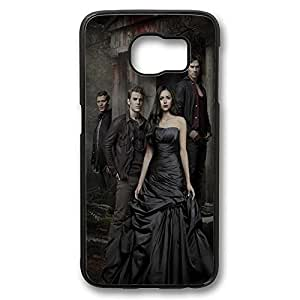 Samsung S6 Case, Galaxy S6 Case - Hihgly Protective Hard Case Bumper for Samsung Galaxy S6 Vampire Diaries 2 Shock-Absorption Black Hard Back Case for Samsung Galaxy S6
