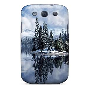 Durable Protection Case Cover For Galaxy S3(lake Of Snow)