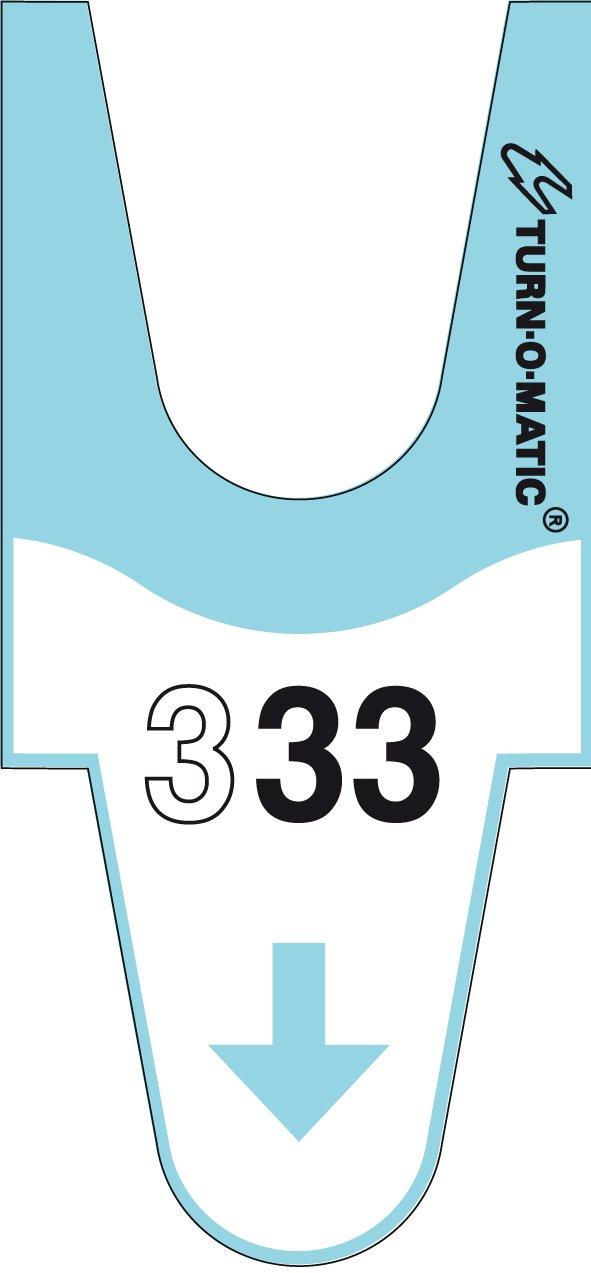 Meto 39649150 Turn Tune-o-matic –  Meto accessori, Originale Tickets T90 3d con fortlaufender numero blu Originale Tickets T903d con fortlaufender numero blu