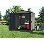 Duramax-StoreMate-6-x-6-PLUS-Plastic-Garden-Shed-with-Plastic-Floor-Fixed-Window-Anthracite-Adobe-15-Years-Warranty