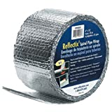 #9: Reflectix SPW0602508 6-Inch by 25-Feet Spiral Pipe Wrap