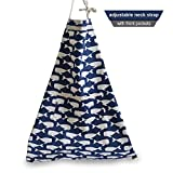 FSK Cotton Canvas Lovely Cartoon Apron Kitchen Cooking Baking Garden Chef Apron with Pockets