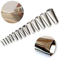 Kitkit Finisher, 14PCS Kitkit Nozzle Applicator, Roestvrijstalen kit Kitkit Nozzle Finishing Tools, Kit kit Kit Kitkit…