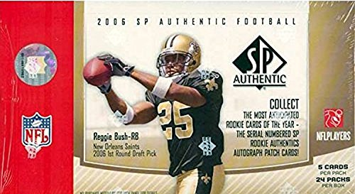 2006 Upper Deck SP Authentic NFL Football HOBBY box (24 (Upper Deck Football)