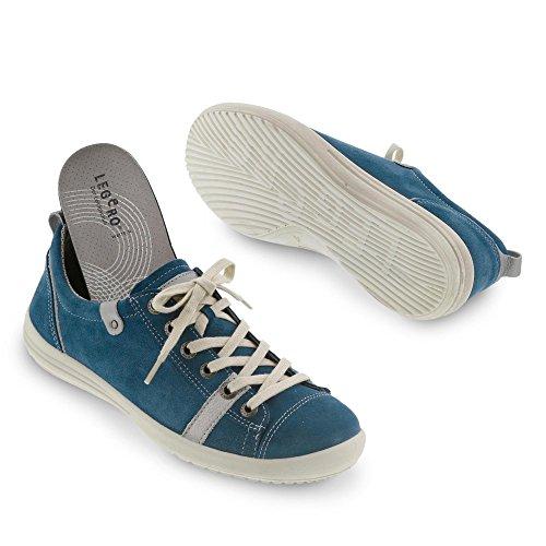 Legero - Zapatos de cordones de ante para mujer