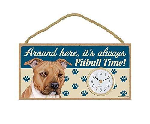 - (SJT62153) Around here, it's always Pitbull (Brown) time! 5