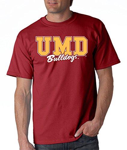 J2 Sport Minnesota Duluth Bulldogs NCAA Campus Script Unisex T-Shirt