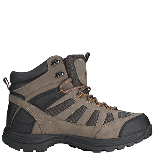 Image of Rugged Outback Men's Brown Men's Ridge Mid Hiker 13 Regular