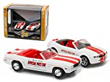 Greenlight 29871 1969 Chevrolet Camaro Convertible & 2011 Chevrolet Camaro SS Indianapolis Indy 500 Pace Cars Set of 2 1-64 Diecast Model Cars