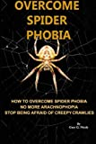 Overcome spider phobia: How to overcome spider phobia no more Arachnophobia stop being afraid of creepy crawlies (Correct Times)