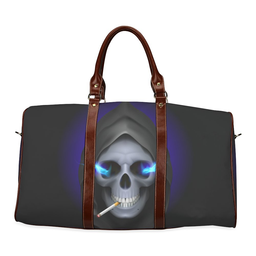 InterestPrint Custom Sugar Skull Travel Bag //Duffel Bag//Luggage Bag//Weekender Bag