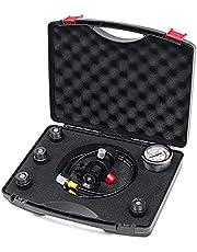 Portable Hydraulic Pressure Gauge Hydraulic Pressure Test Kit Accumulator Nitrogen Charging Filling Gas Valve Pressure Test