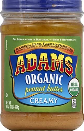 Peanut & Nut Butters: Adams Organic