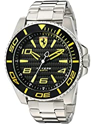 Ferrari 830330 XX KERS Quartz Stainless Steel Watch