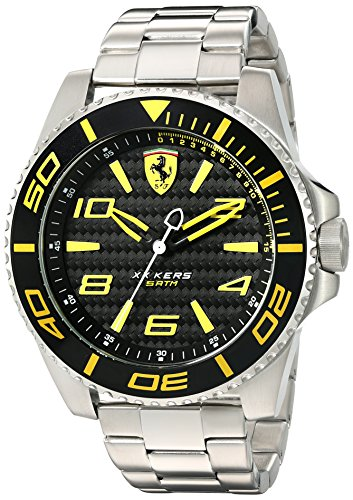 Ferrari 830330 'XX KERS' Quartz Stainless Steel Watch