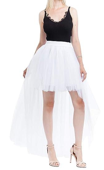 Mini Falda Señoras Tutu Enagua Hilo Color Sólido Moda Mode De ...