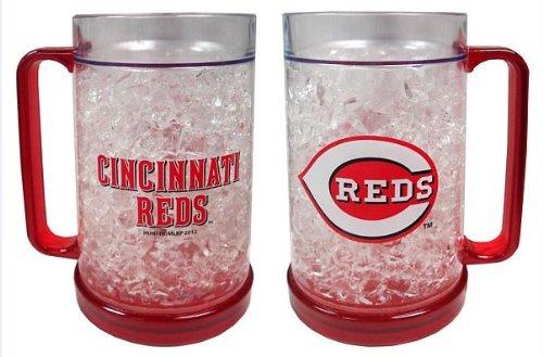 Cincinnati Reds Crystal Freezer Mug