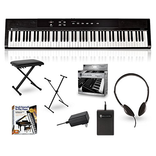 williams-legato-88-key-digital-piano-packages-beginner-package