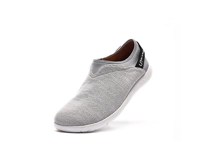 UIN Chaussure de Loafer Décontracté de Confort de Tricot Verona des Hommes Gris (42) UIN Chaussure de Loafer Décontracté de Confort de Tricot Verona des Hommes Gris (42) EvfUFz7Z5v